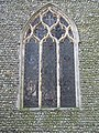 -2020-01-04 East stained glass window from outside, All Saints church, Gimingham.JPG