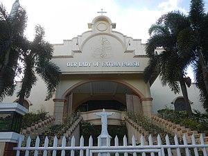 Marilao, Bulacan - Image: 01544jf Metrogate Meycauayan II Heritage Homes Fatima Church Loma de Gato, Marilao, Bulacanfvf 22