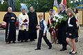 02014 Zeremonie am Denkmal für die Opfer einer tragischen Feuersbrunst von 1944.JPG