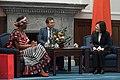 09.19 布吉納法索新任駐華特命全權大使尚娜呈遞到任國書,對於布國政府長期以來堅定支持我國際參與,總統也表達衷心感謝之意 (36506110043).jpg