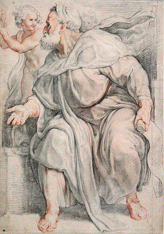 Ezekiel - The Prophet Hesekiel by Peter Paul Rubens (1609–1610) in the Louvre