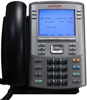 Power over Ethernet - Avaya IP Phone 1140E with PoE support