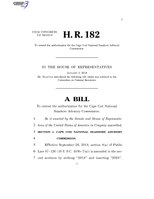 116th United States Congress H. R. 0000182 (1st session) - To extend the authorization for the Cape Cod National Seashore Advisory Commission.pdf