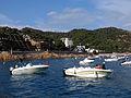 119 Barques davant la platja de Tossa de Mar.JPG