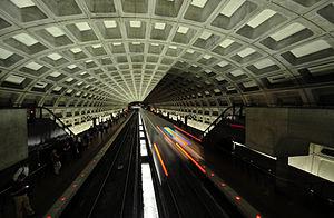 McPherson Square - The McPherson Square station on the Washington Metro