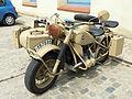 123 Fira Modernista de Terrassa, mostra de motos d'època a la Rambla.JPG