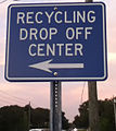 14 06 29 Recycle Location Sign Dunedin FL 02.jpg