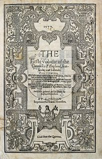 1577 compilation history of the British Isles