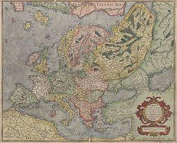 mapa de europa mercator