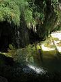 164 Gorg sota el salt d'aigua del Tenes, Sant Miquel del Fai.JPG