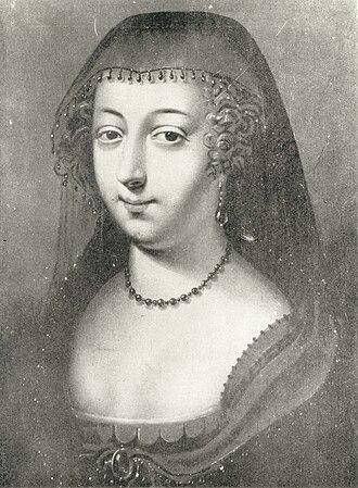 Maria Francisca of Savoy - Marie Françoise de Savoie-Nemours.