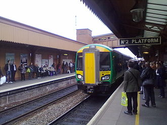 Turbostar - Class 172/3 at Birmingham Moor Street – the 172/2 and 172/3 sub classes are the only Turbostar types with end gangways