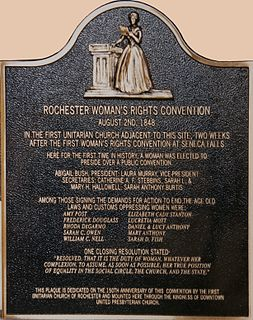 Rochester Womens Rights Convention of 1848