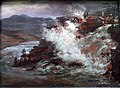 1852 Claussen Dahl Wasserfall in Norwegen anagoria.JPG