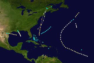 1869 Atlantic hurricane season hurricane season in the Atlantic Ocean