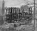 1871 Great Chicago Fire destroyed buildings.jpg