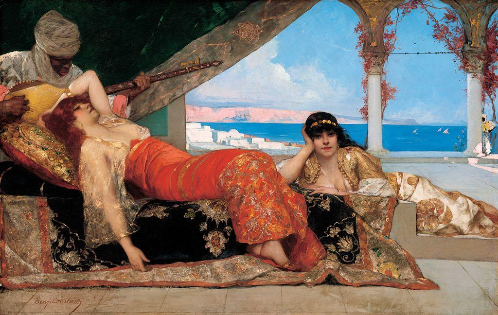 1879 Benjamin-Constant - Favorite of the Emir.jpg