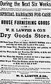 1881 - W R Lawfer Newspaper Ad Allentown PA.jpg