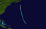 1885 Atlantic hurricane 7 track.png