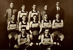 1908-09 VMI Keydets basketball team.jpg