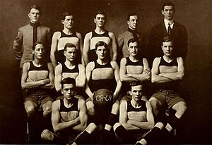 1908–09 VMI Keydets basketball team - Image: 1908 09 VMI Keydets basketball team