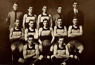1908–09 VMI Keydets basketball team - Image: 1908 09 VMI Keydets basketball team