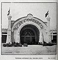 1909-10-02, Blanco y Negro, Fachada exterior del Teatro Circo, Exposición Regional de Valencia, Barberá.jpg