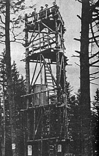 The Evergreen State >> Hunter Mountain Fire Tower - Wikipedia