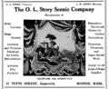 1916 O L Story Scenic Co advert.png