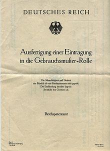 Patentrecht Deutschland