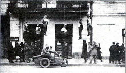 Sumskaya street in Kharkiv, 25 October 1941 1941oct25SumskayaStreetOccupation.jpg