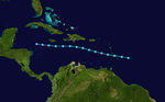 1944 Atlantic tropical storm 2 track.png