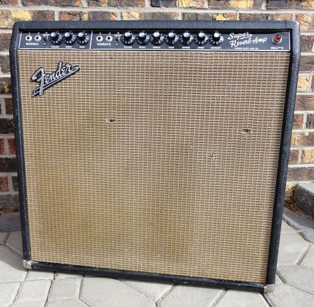 Dating super reverb amp