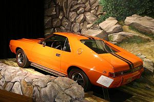 1969 American Motors AMX photographed by DougW...
