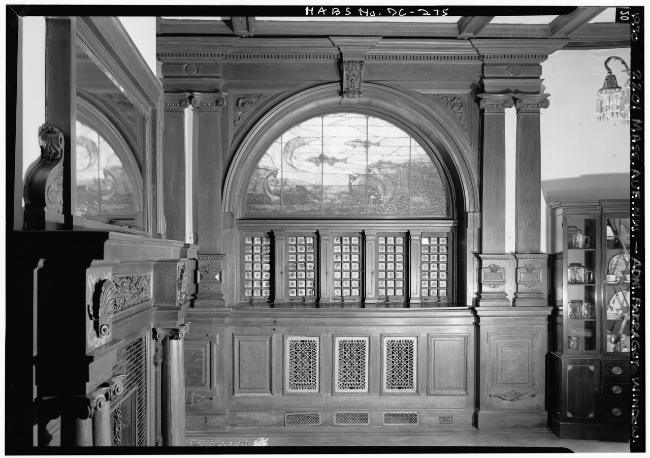 File 1970 admiral farragut memorial window dining room for Dining room c house of commons