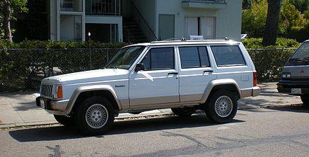 1993 1996 Jeep Cherokee Country Xj Usa