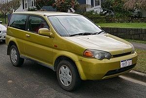 Honda HR-V - Image: 1999 2001 Honda HR V (GH2) 3 door wagon (2015 08 07) 01