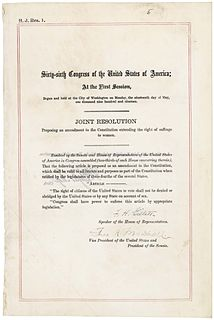 Womens Equality Day day proclaimed to commemorate the granting of the vote to women in the USA