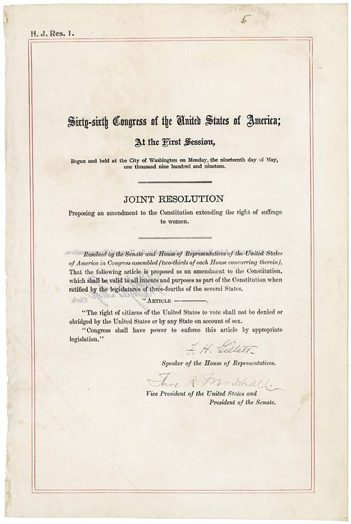 19th Amendment Pg1of1 AC