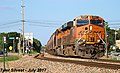 1 2 BNSF 8127 Leads SB Covered Hopper Lenexa, KS 7-29-17 (35999001770).jpg