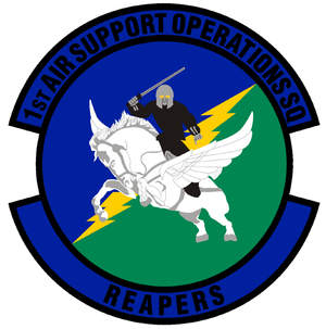 1st Air Support Operations Squadron - 1st Air Support Operations Squadron emblem