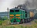 2ТЭ10М-2941, Молдова, перегон Бэлць-Ораш - Бэлць-Слобозия (Trainpix 68473).jpg