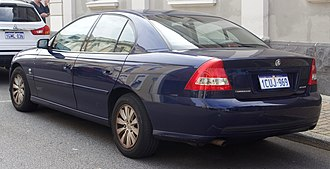Holden Commodore (VZ) - Commodore Acclaim sedan
