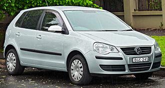 Volkswagen Polo Mk4 - Volkswagen Polo Mk4 (facelift)
