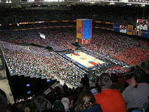 2005 NCAA Division I Men's Basketball Tournament - Image: 2005 NCAA North Carolina v Michigan State
