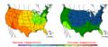 2006-05-17 Color Max-min Temperature Map NOAA.png