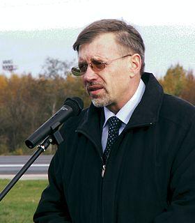 Gediminas Kirkilas Lithuanian politician