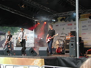 Nova International bei einem Open-Air-Konzert am 7. Juli 2007 in Fürth