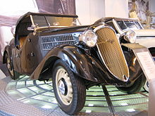 Škoda Popular Rapid Roaster del 1936