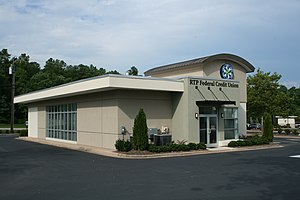 Credit unions in the United States - RTP Federal Credit Union in Research Triangle Park, North Carolina.